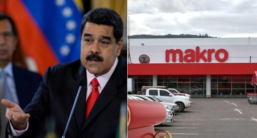 maduro y makro 900x485 - Gobierno de Venezuela interviene cadena mayorista Makro