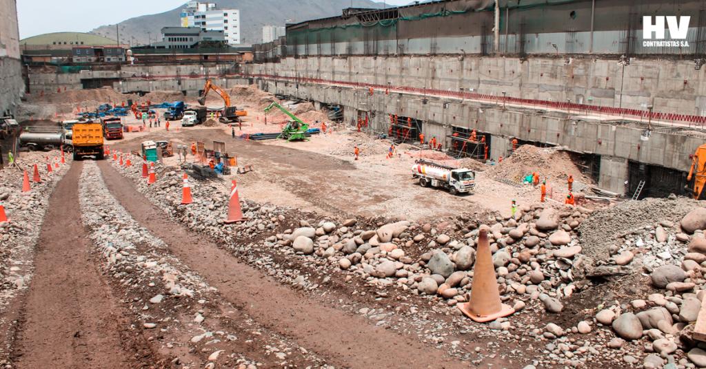 mall aventura excavación 2018