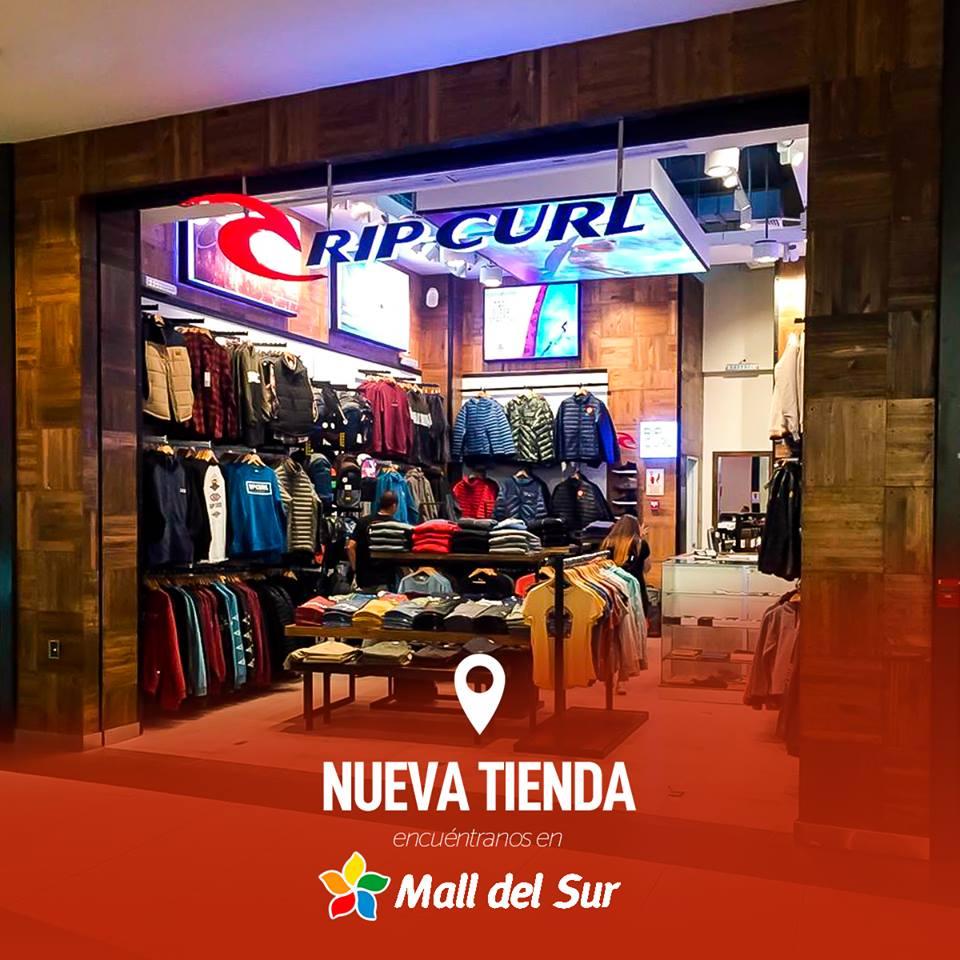 mall del sur rip curl - Perú: Rip Curl avanza y abre nueva tienda en el Mall del Sur