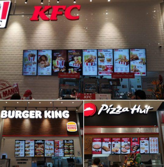 mallplaza comas fast food
