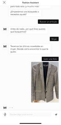 mango 3 - Mango lanza Fashion Assistant, chatbot que reconoce prendas por imagen