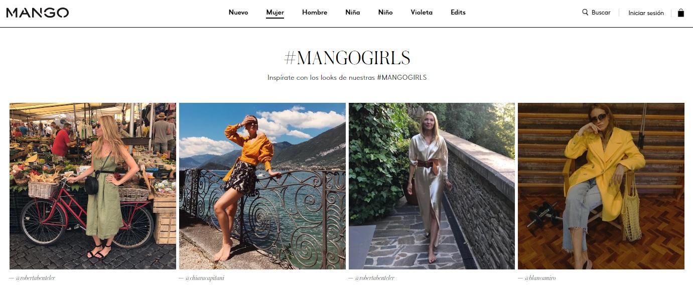 mango web españa - Mango proyecta que la venta online alcance el 20% de la facturación total