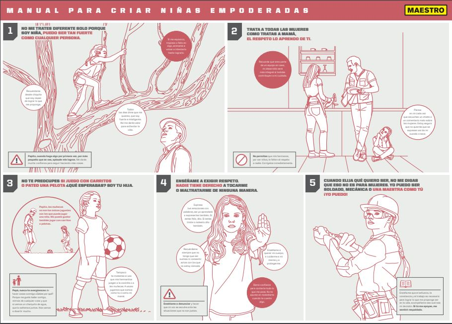 manual Maestro - Perú: Maestro lanza el primer 'Manual para criar niñas empoderadas'