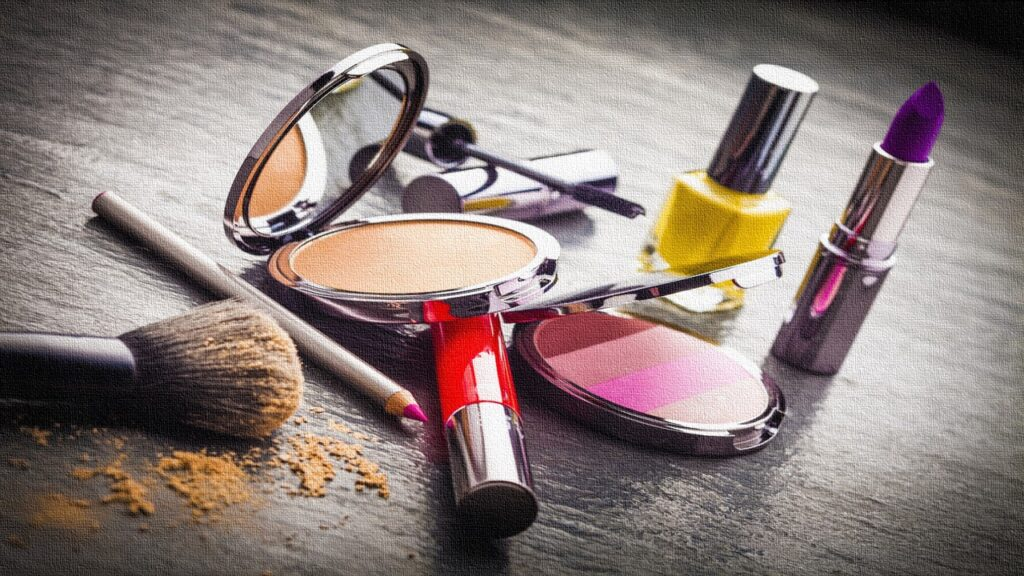 maquillaje 1024x576 - Cosméticos e higiene: ¿cómo le fue a la industria en 2019?