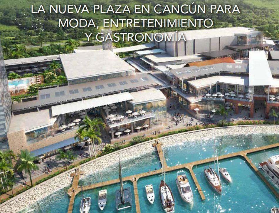 marina town center - Marina Town Center: Un exclusivo centro comercial en el corazón de Cancún