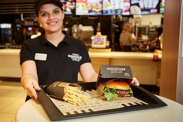 mcdonalds burger signature - McDonald's abrió un nuevo local en Argentina