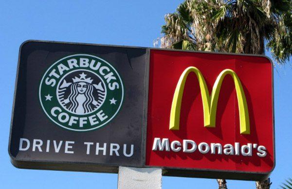 mcdonalds starbucks - EEUU: McDonald's y Starbucks limitan sus servicios para frenar el coronavirus
