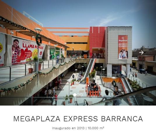 megaplaza express barranca
