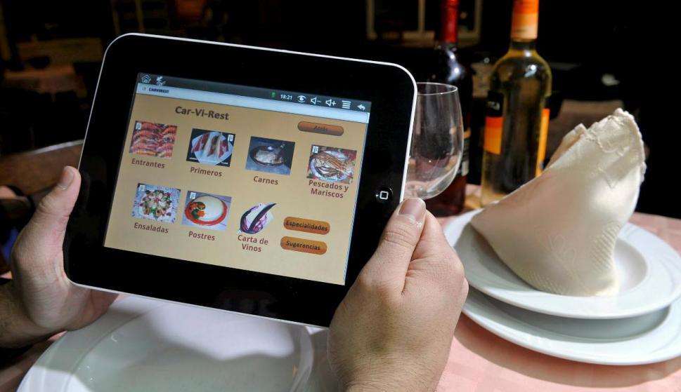 menú virtual - ¿Por qué quiebran los restaurantes en Ecuador?