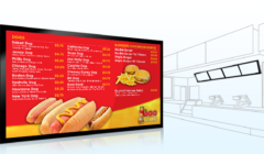 menu board fast food