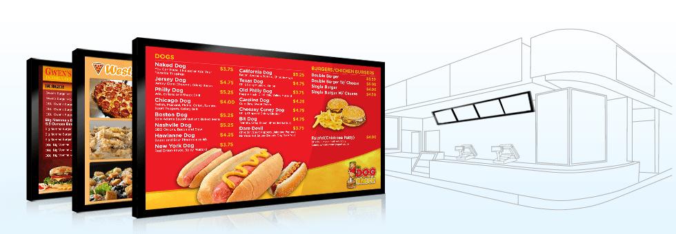 menu board fast food