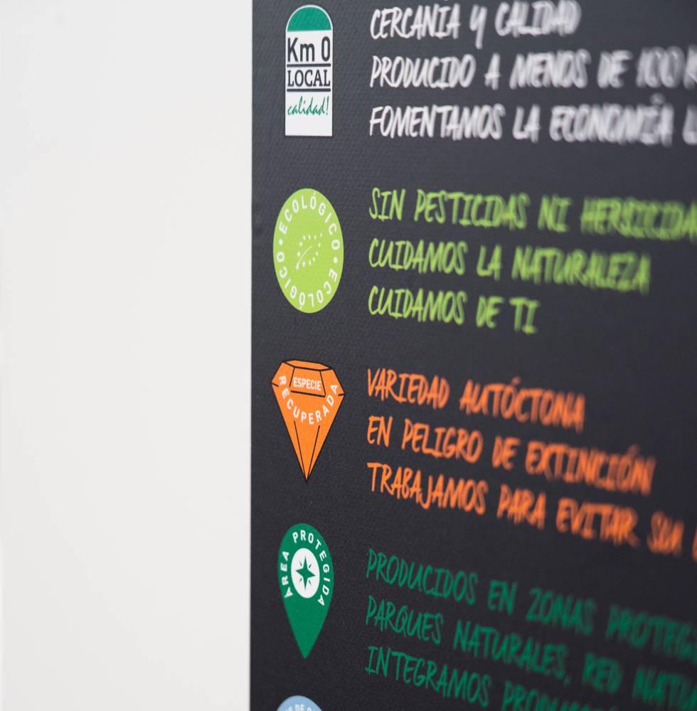 menu zara - Así es el comedor sostenible donde van los empleados de Zara