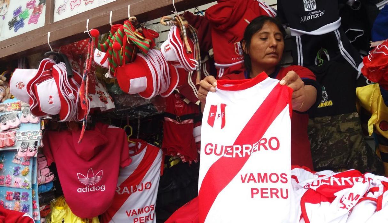 mesa redonda - Perú: Mesa Redonda prevé vender artículos mundialistas por US$400 millones