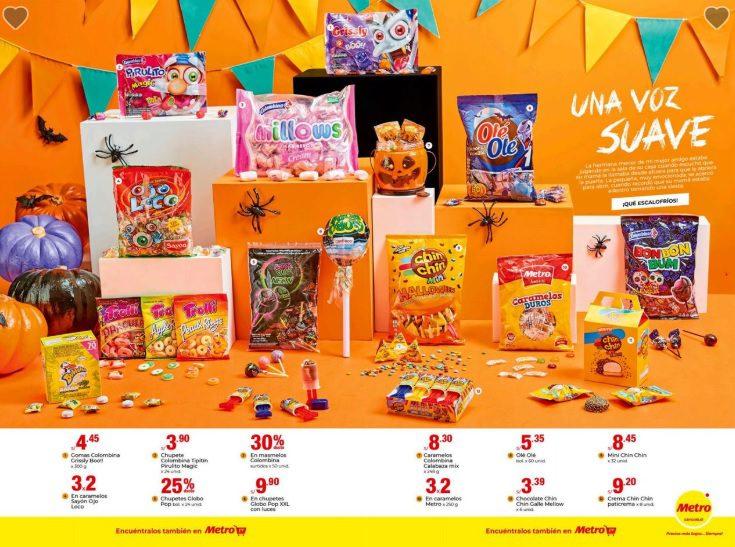 metro 3 - Perú: Supermercados presentan ofertas por Halloween