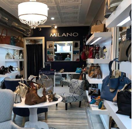 milano bags - Marca peruana Milano Bags abre una tienda en exclusivo mall de Estados Unidos
