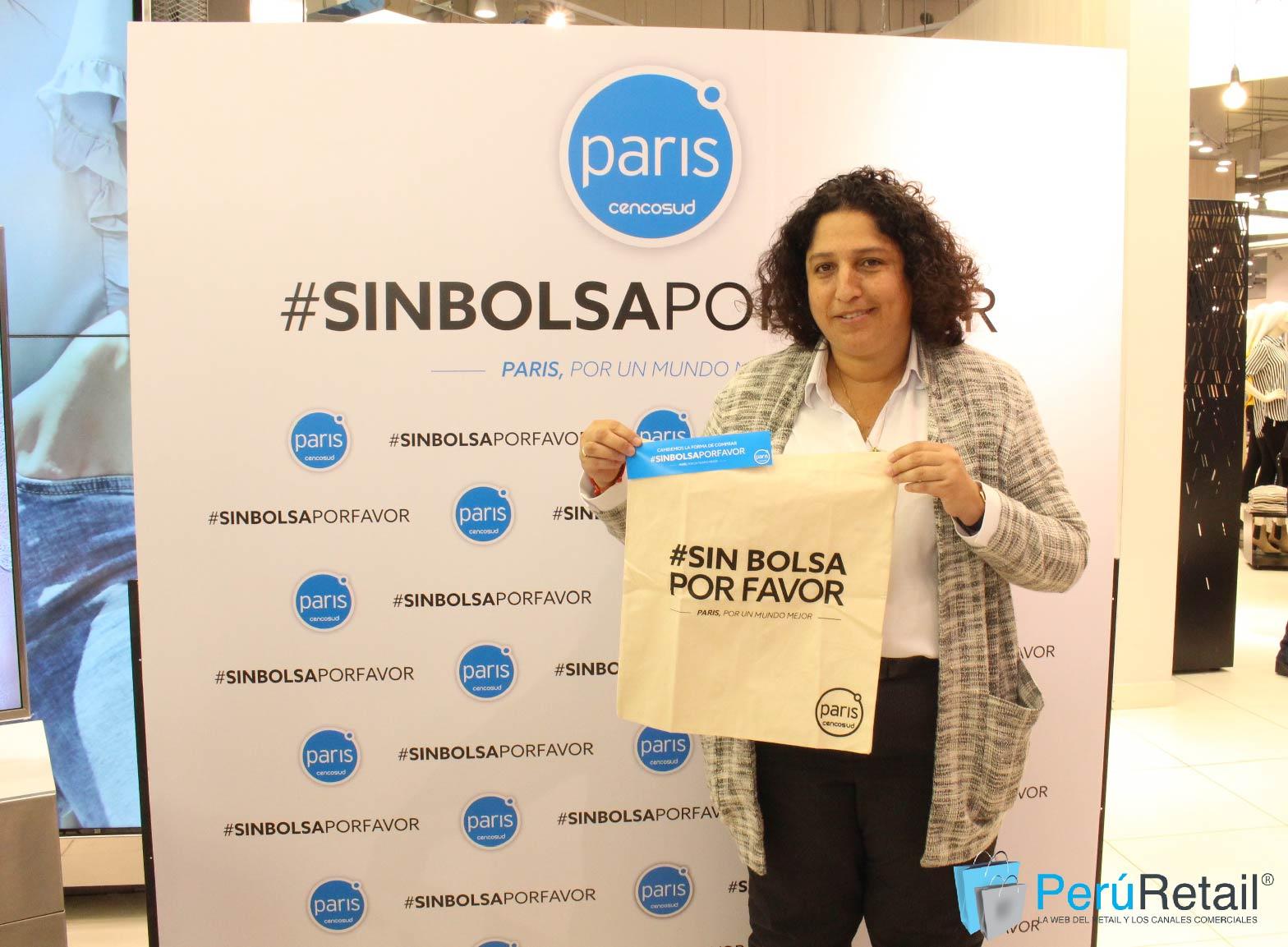 minam - Paris presenta proyecto para reducir en 40% el uso de bolsas plásticas