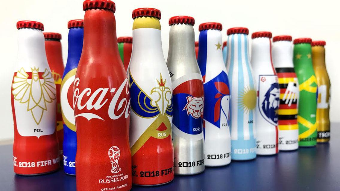 mini mundialistas coca cola - Coca Cola lanzará colección de mini botellas mundialistas en México