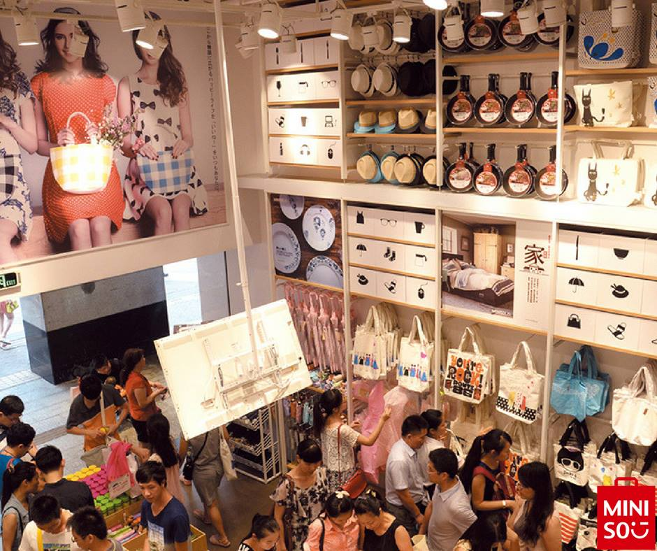 miniso 2 - Marca japonesa Miniso llegaría a competir en el retail peruano