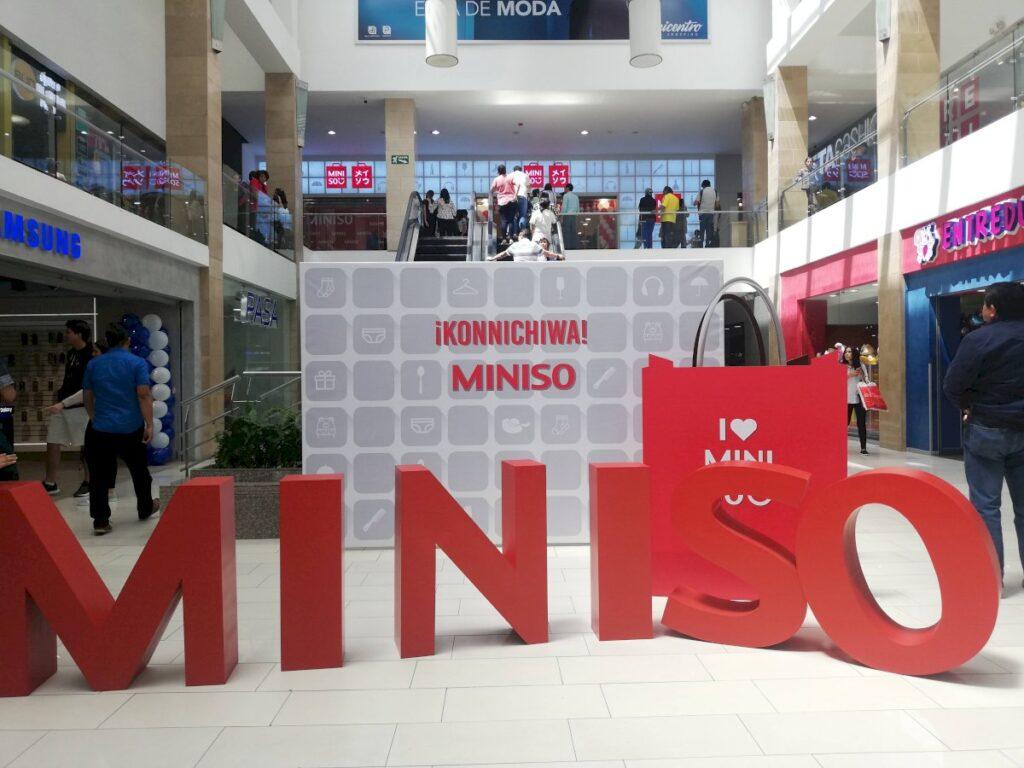 miniso mall ecuador 1024x768 - Miniso: La cadena asiática de bajo costo desembarca en Ecuador