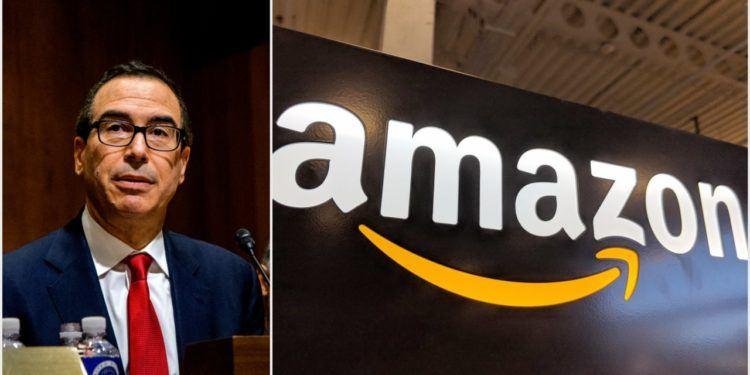 "mnuchin amazon 750x375 - Steve Mnuchin: ""Amazon destruyó la industria minorista de EE.UU"""