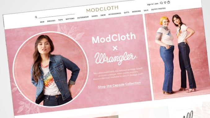 modcloth es vendido por walmart - Walmart vende retailer de moda online ModCloth, solo dos años después de comprarlo