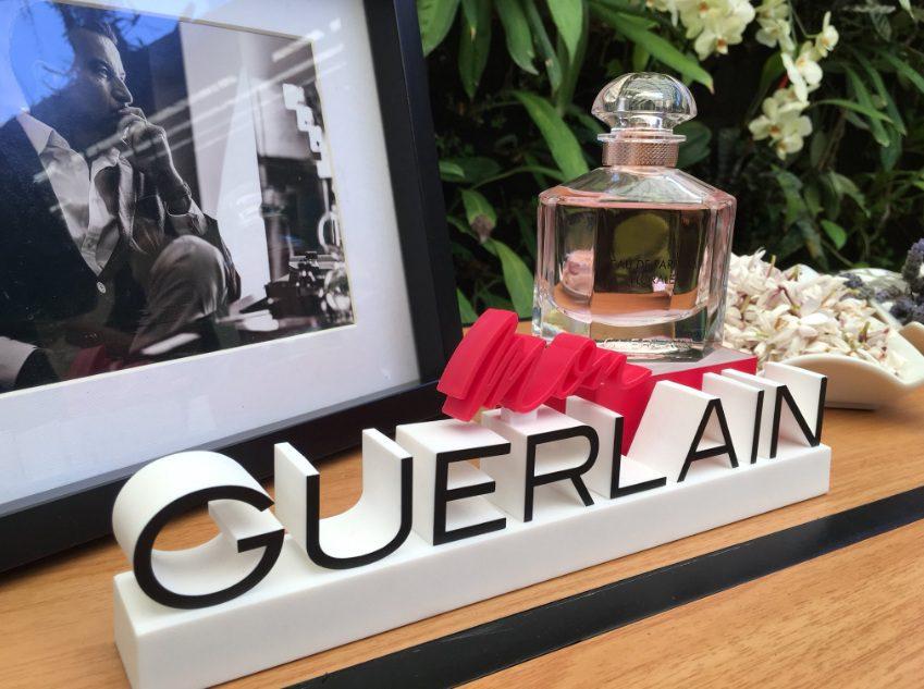 mom guerlain aj 1 - Mon Guerlain Florale, inspirado en la feminidad de Angelina Jolie