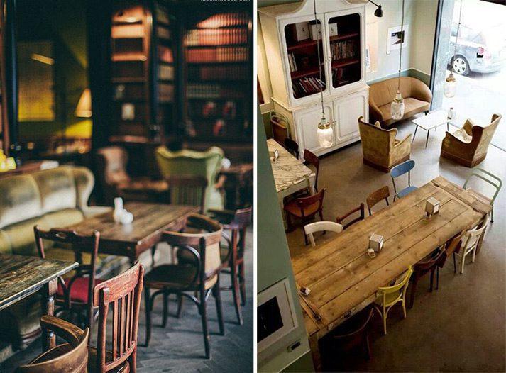 Muebles Vintage Lo Nuevo En Decoración De Espacios Comerciales