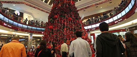 navidad centro comercial