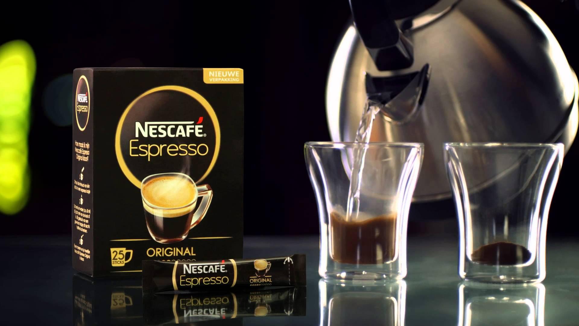 nescafe espresso - Nestlé apuesta por su marca Nescafé Espresso