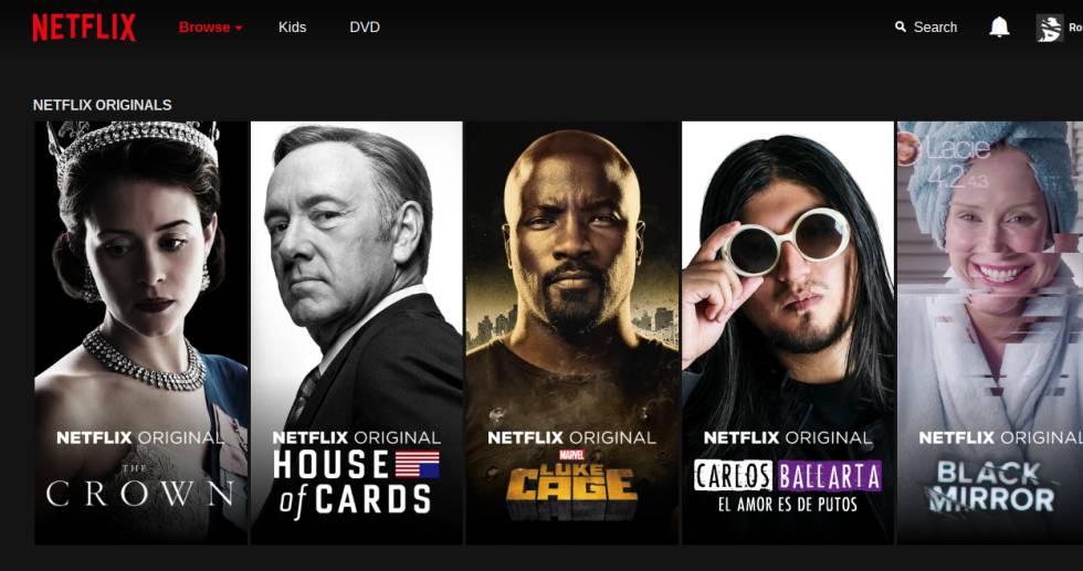 netflix series propias perú retail - Netflix atravesará una competencia dura con Apple y Disney