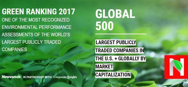 newsweek - L'Oréal es reconocida como la empresa más sostenible del 2017