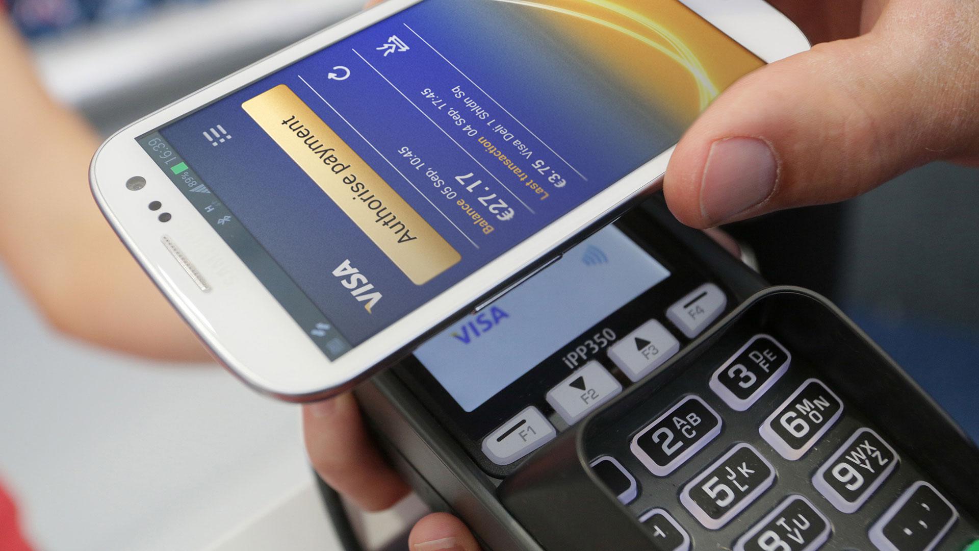 nfc visa pagar - 18 % de europeos usan medios online para pagar frecuentemente