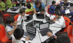 niños laptops 240x140 - Campaña Back to School movió S/ 180 millones en venta de equipos de cómputo en Perú