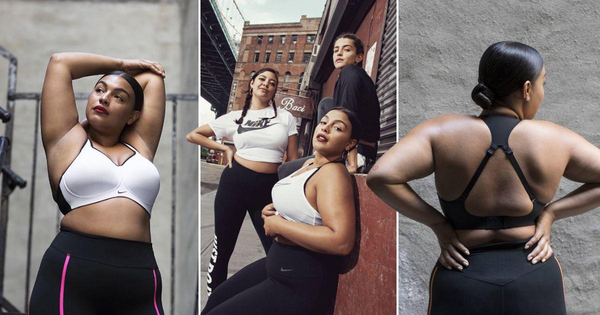 6bc2e506 Nike lanza su primera línea de ropa de talla grande para mujeres ...