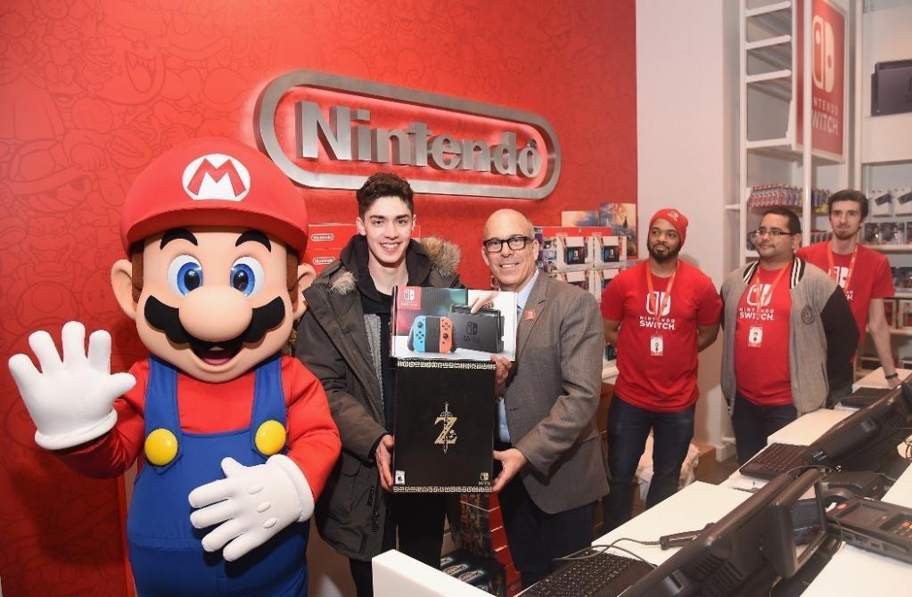 nintendo switch - Nintendo Switch sube las acciones de su compañía en un 3.7 %