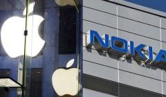 nokia y apple 240x140 - Apple retira productos de Nokia luego que este lo demandara