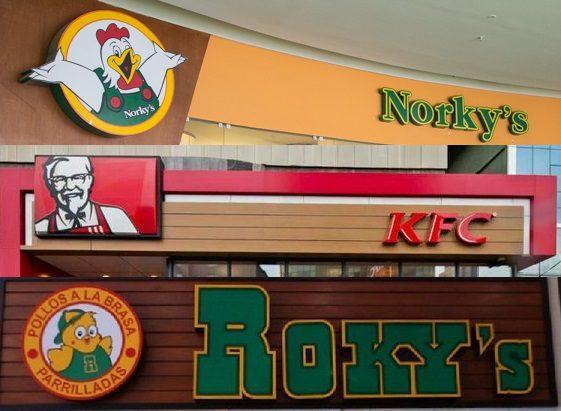 norkys rockys kfc - Perú: Pollerías lideran el mercado de fast food con más del 40% de participación