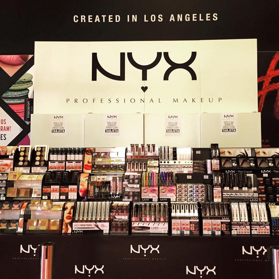 nyx productos