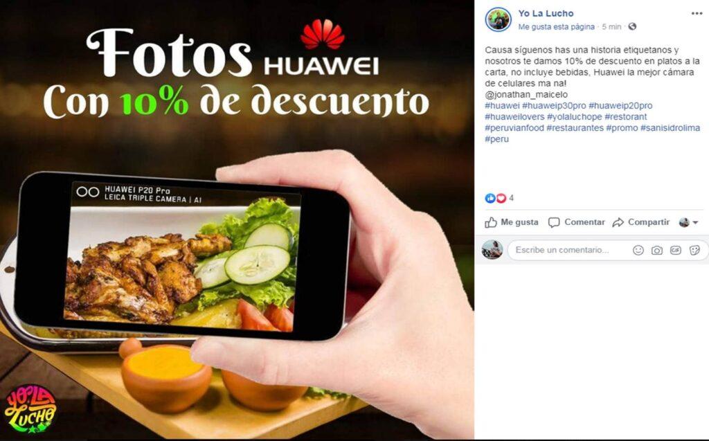 oferta huawei 2 Perú Retail 1024x637 - Conoce los negocios que han aprovechado el veto de Huawei para lanzar ofertas