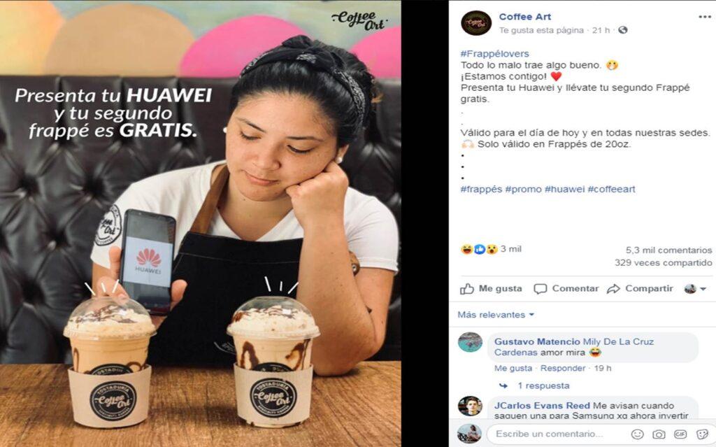oferta huawei 5 Perú Retail 1024x639 - Conoce los negocios que han aprovechado el veto de Huawei para lanzar ofertas