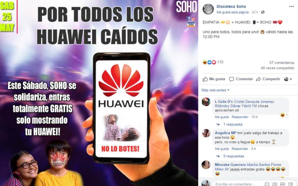 oferta huawei 7 Perú Retail 1024x641 - Conoce los negocios que han aprovechado el veto de Huawei para lanzar ofertas