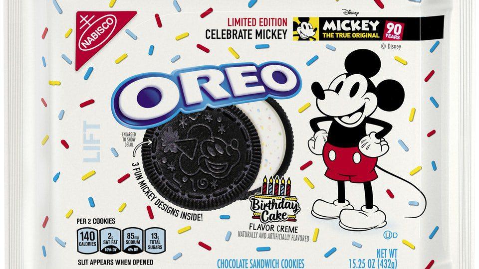oreo imagen - Oreo celebra el cumpleaños de Mickey Mouse