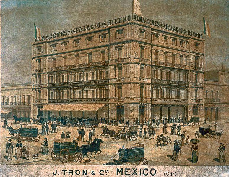 palacio de hierro tienda mexico