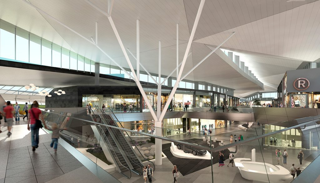 palmas altas 1024x587 - El centro comercial Palmas Altas abrirá el primer trimestre de 2019 en España