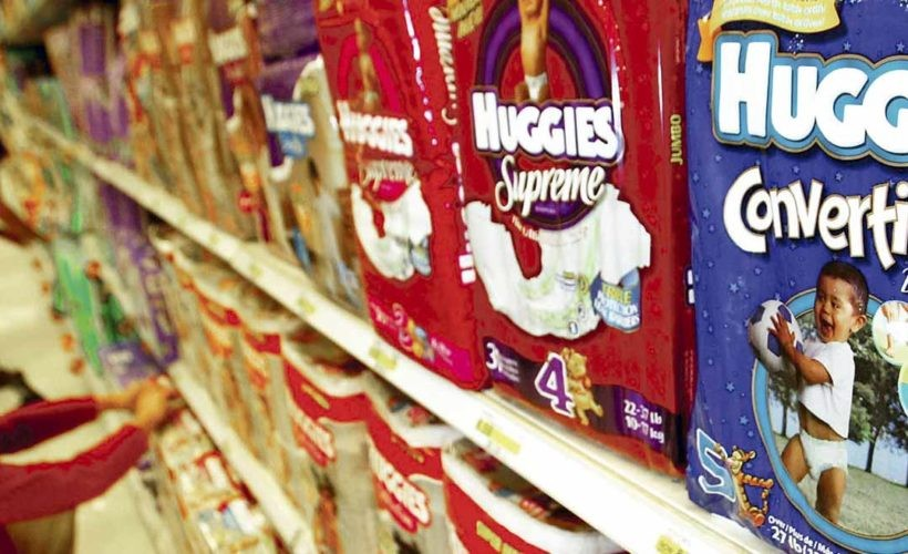 pañales e1482272733113 - Kimberly Clark es sancionada por colusión con CMPC para subir precios de pañales