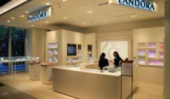 pandora travel retail