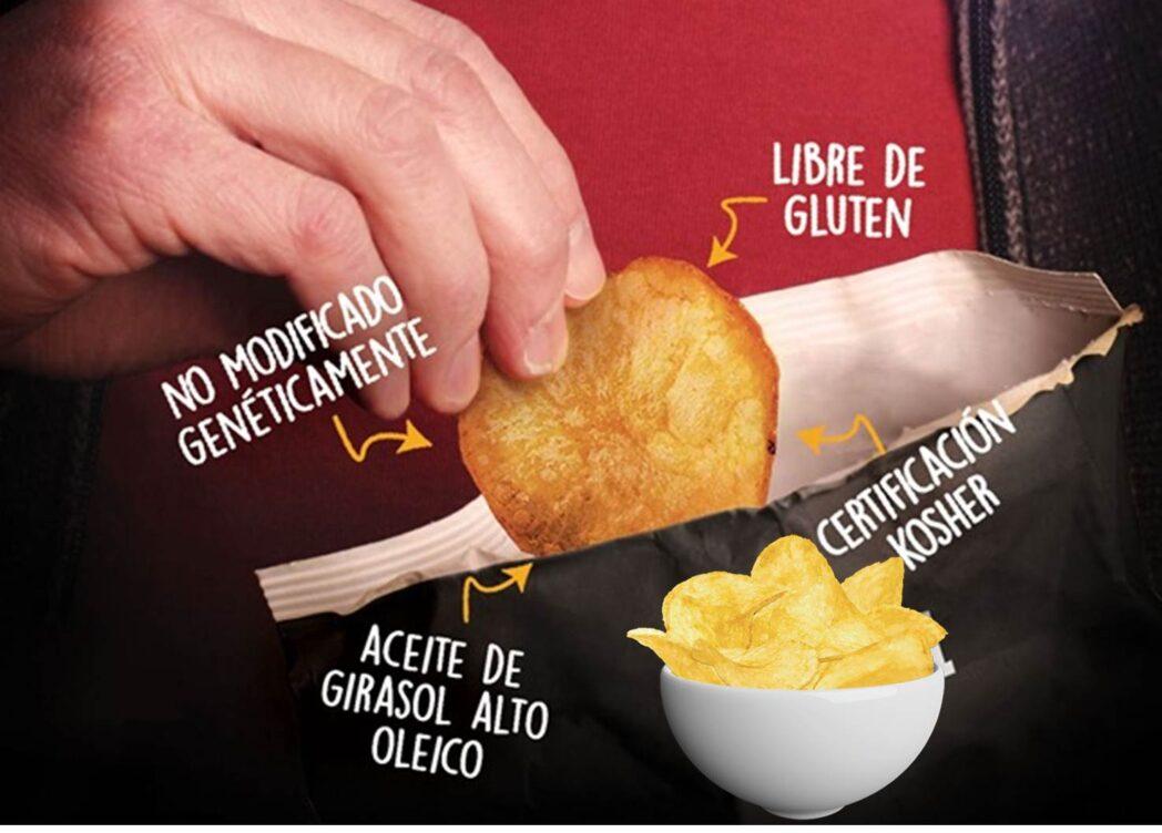 """papas libres de octogonos Perú Retail - Conoce el snack peruano que ha invertido US$200 mil para ser """"libre de octógonos"""""""