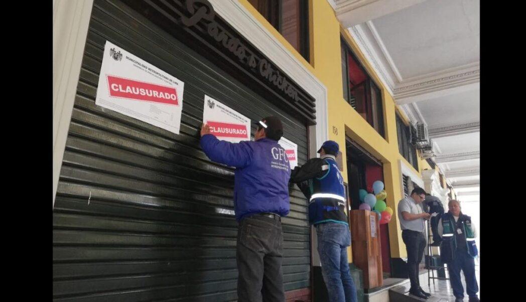 pardos lima clausurada - Estas son las pollerías clausuradas por insalubridad en el Centro Histórico de Lima