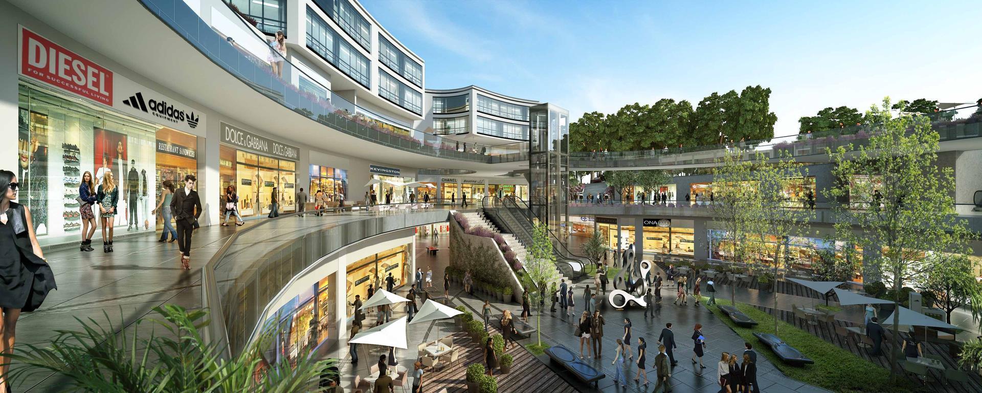 parque arauco la molina 3 - Cencosud y Parque Arauco reanudan construcción de sus malls en La Molina