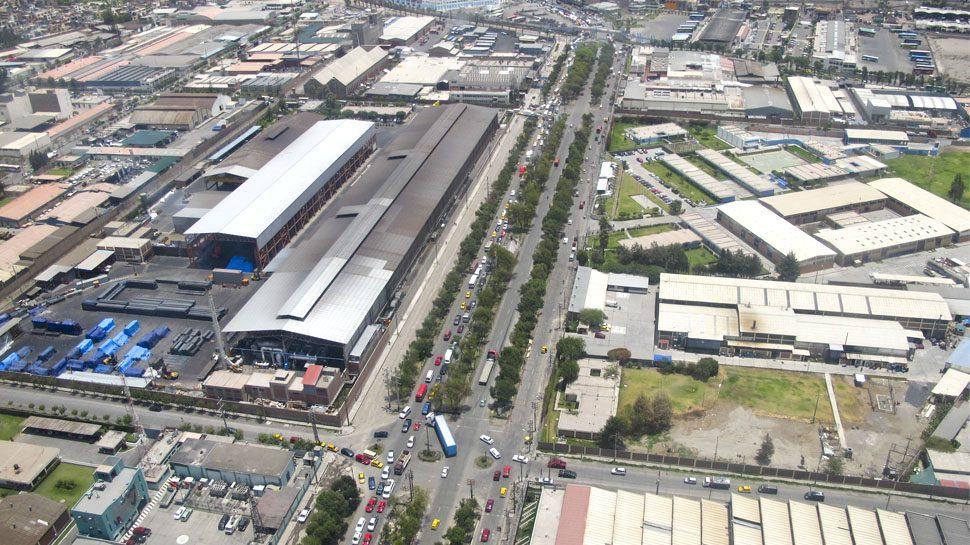 parque industrial de ancon - logistica